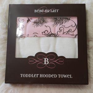 Bebe Au Lait Hooded Toddler Towel
